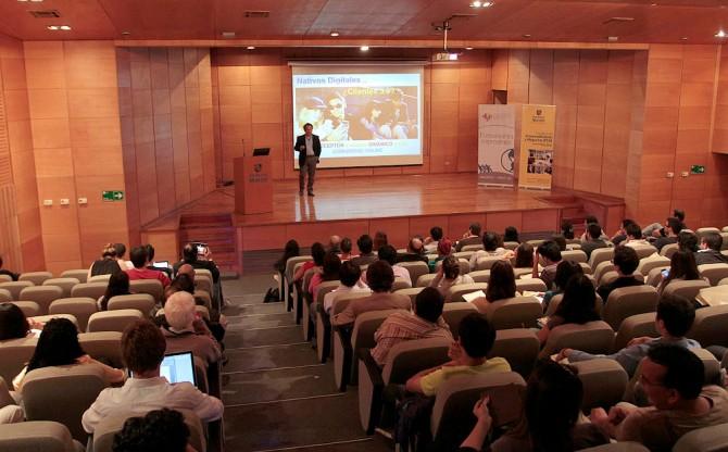 Conferencia en UMayor2013
