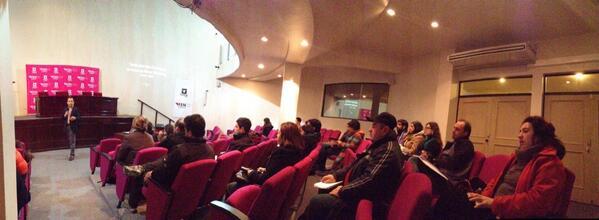 Seminario Uso Profesional de Redes Sociales en Emprendimientos 2014