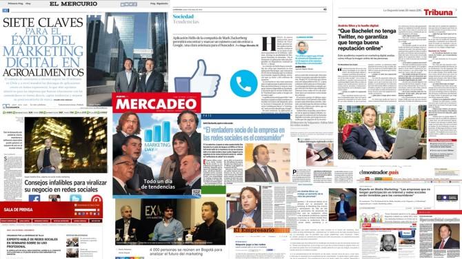 Andrés Silva Arancibia Conferencias Marketing Digital, Redes Sociales 2016 Entrevistas