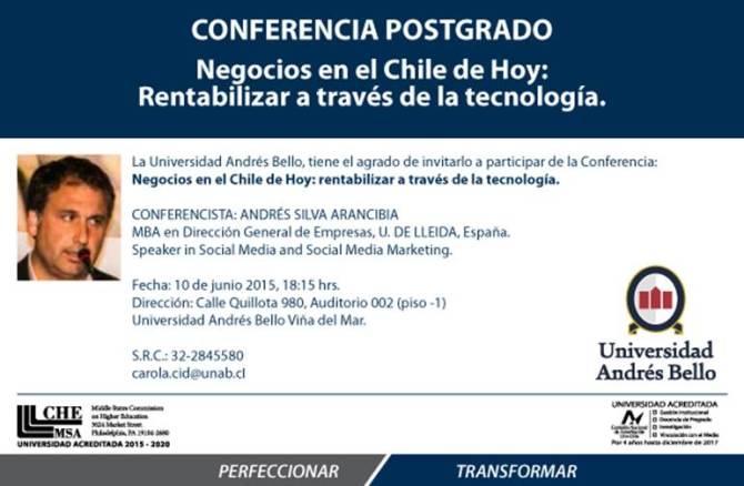 Andrés Silva 10 de junio 2015 Unab