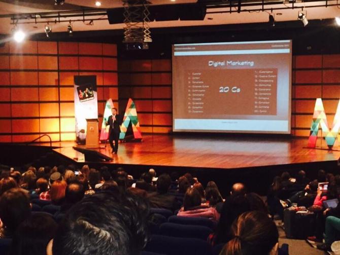 Andrés Silva Arancibia en Expomarketing2015 Bogotá