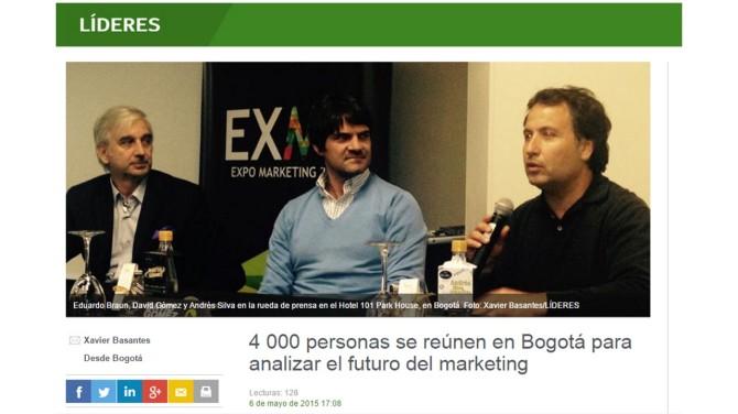 Líderes en Bogota EXMA2015