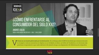 Andrés Silva en Memoria EXMA2015 Bogotá