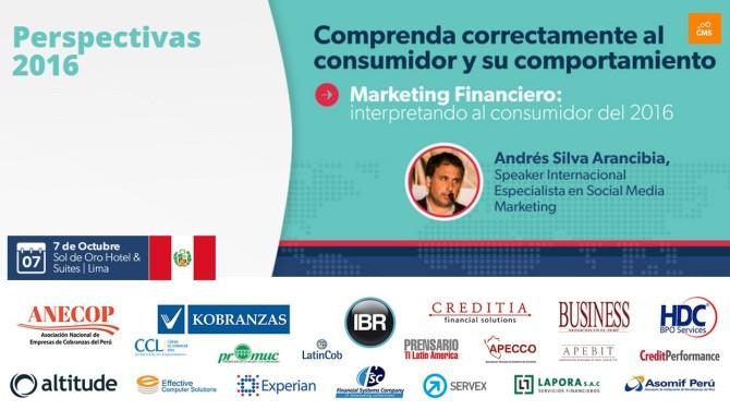 CMS Marketing Financiero Lima, Perú 2015. Andrés Silva Arancibia