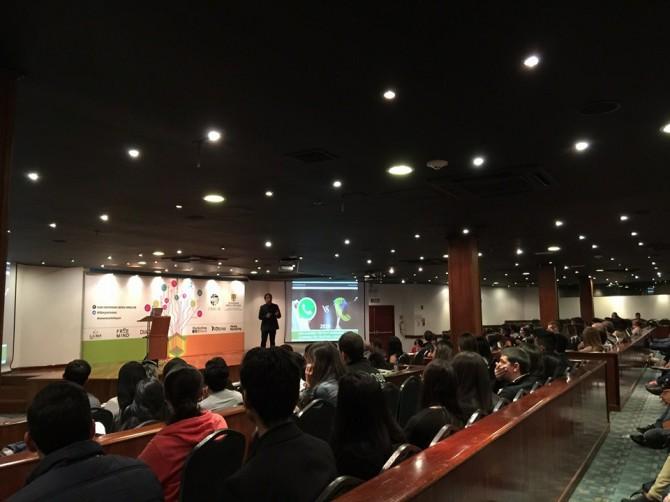 Andrés Silva Arancibia en la Semana del Marketing, Bogotá 2015
