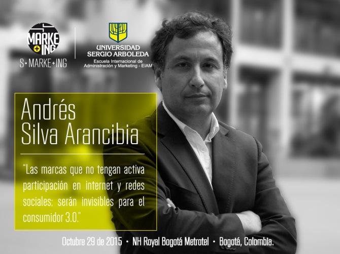 Andres Silva Arancibia (4) Universidad Sergio Arboleda Bogotá Semana del Marketing 2015