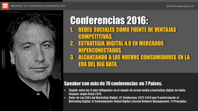 Andrés Conferencias 2016