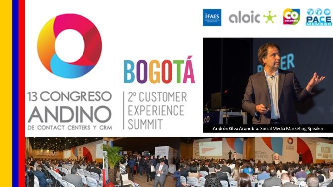 13 Congreso Andino de Contact Center y CRM Bogota2016 andres silva arancibia