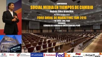 Andres Silva Arancibia en FAM 2016 Lima Perú