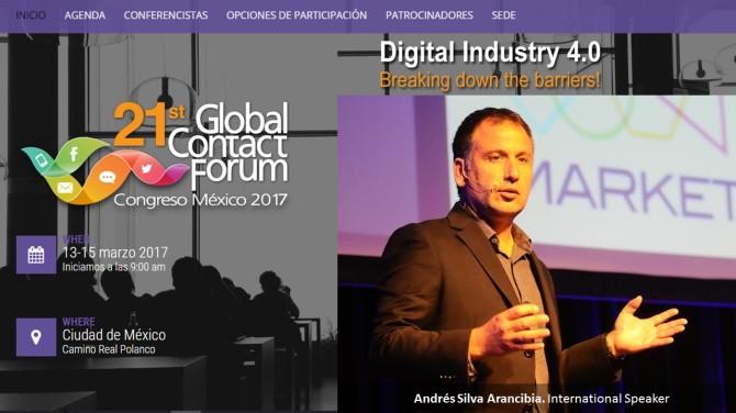 andres-silva-arancibia-global-forum-mexico-2016-marketing-contact-center-crm-seminarios
