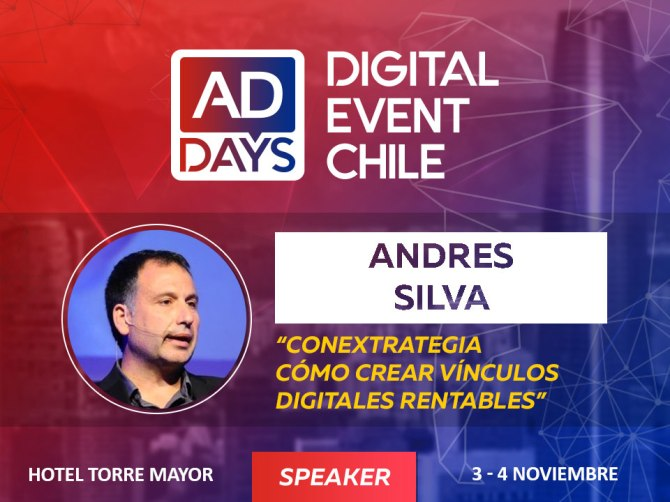 andres silva arancibia, speaker, marketing digital, conferencias, charlas, seminarios, addays