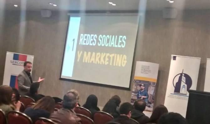 andres silva arancibia, marketing digital, redes sociales, conferencias, charlas, seminarios, eventos, experto, sercotec, corfo