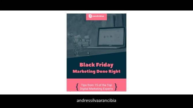 ebook, black friday. marketing done right, andres silva arancibia