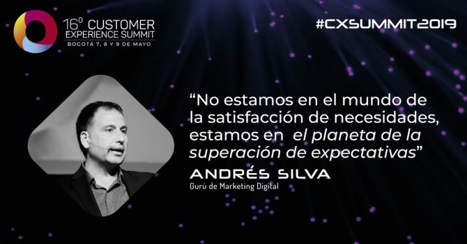 andres silva arancibia, marketing digital, eventos, seminarios, conferencias, charlas, experto, speaker, transformación digital, big data, customer experience, summit, bogotá, 2019,,