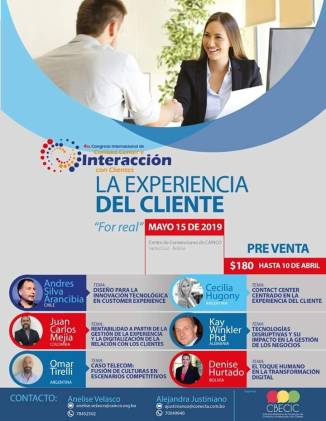 congreso experiencia cliente, andres silva arancibia, cx, marketing digital, santa cruz, bolivia