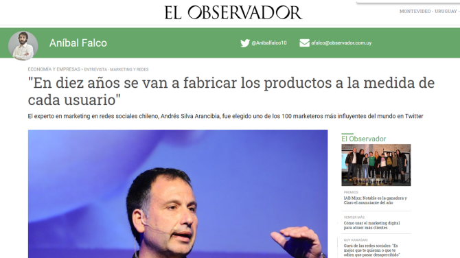 andres-silva-arancibia-diario-el-observador-uruguay-negocios-marketing-digital-estrategia-entrevista-speaker-conferencias-expero.charlas